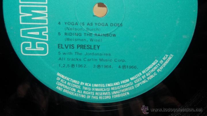Discos de vinilo: Elvis Presley - L.P. I GOT LUCKY MADE in englad - Foto 17 - 53535283