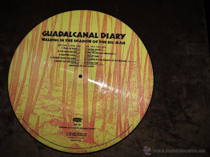 Discos de vinilo: GUADALCANAL DIARY-WALKING IN THE SHADOW OF THE BIG MAN - Foto 2 - 53535482