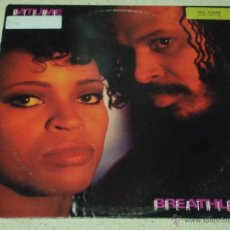 Discos de vinilo: MTUME ( BREATHLESS 2 VERSIONES - OUT OF BREATH ) 1986 - USA MAXI45 EPIC. Lote 53535994