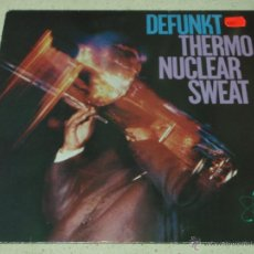 Discos de vinilo: DEFUNKT ( THERMO NUCLEAR SWEAT ) 1982 - GERMANY LP33 HANNIBAL. Lote 53536529