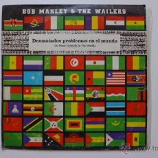 Discos de vinilo: BOB MARLEY & THE WAILERS. SO MUCH TROUBLE IN THE WORLD. ISLAND 1979.. Lote 53542134