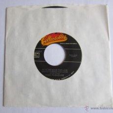 Discos de vinilo: KING PLEASURE - I'M IN THE MOOD FOR LOVE (MOODY'S MOOD FOR LOVE) SINGLE USA * FUNDA DE PLASTICO TRAN. Lote 89647750