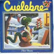 Discos de vinilo: CUELEBRE / LA NUECHI D'AMOR / D.R. / PASTORES CANGUESES / LLUCERO DE NAVIDA (EP 1982). Lote 53548455