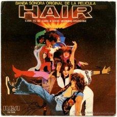 Discos de vinilo: CHERYL BARNES - EASY TO BE HARD (HAIR BSO) - SG SPAIN 1979 - RCA VICTOR PB 1548. Lote 53551979