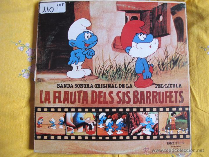 LP - LA FLAUTA DELS SIS BARRUFETS - BANDA SONORA ORIGINAL (SPAIN, BELTER 1980) (Música - Discos - LPs Vinilo - Música Infantil)