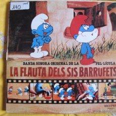Discos de vinilo: LP - LA FLAUTA DELS SIS BARRUFETS - BANDA SONORA ORIGINAL (SPAIN, BELTER 1980). Lote 53553327