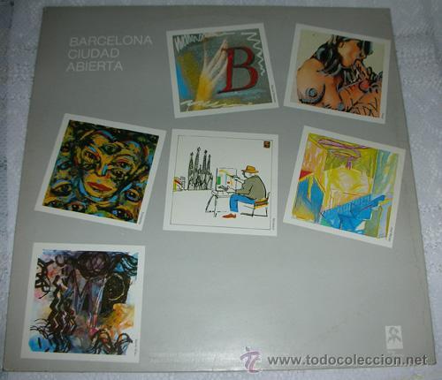 BARCELONA CIUDAD ABIERTA - LP RECOPILATORIO WILDE RECORDS 1983 (Música - Discos - LP Vinilo - Grupos Españoles de los 70 y 80)