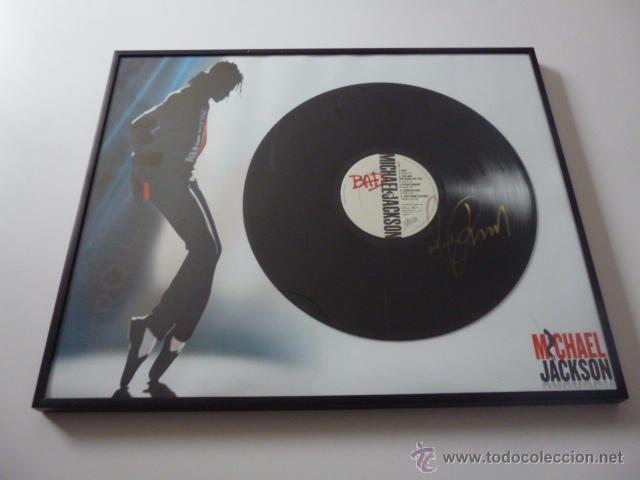 lp vinilo michael jackson signed firmado firma - Comprar Discos LP ...