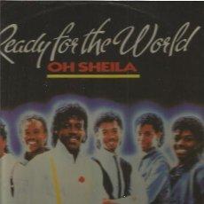 Discos de vinilo: READY FOR THE WORLD. Lote 53565087