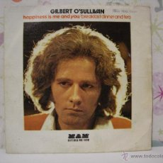 Discos de vinilo: GILBERT O'SULLIVAN *** HAPPINESS IS ME AND YOU + BREAKFAST DINNER AND TEA *** AÑO 1974. Lote 53571745