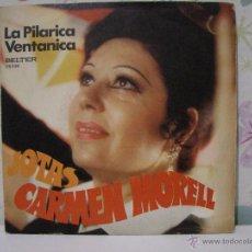 Discos de vinilo: JOTAS **** CARMEN MORELL ** LA PILARICA + LA VENTANICA *** SINGLE BELTER AÑO 1974. Lote 53573064