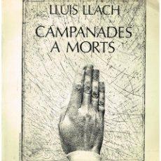 Discos de vinilo: LLUIS LLACH - CAMPANADES A MORTS - LP 1977. Lote 53576113