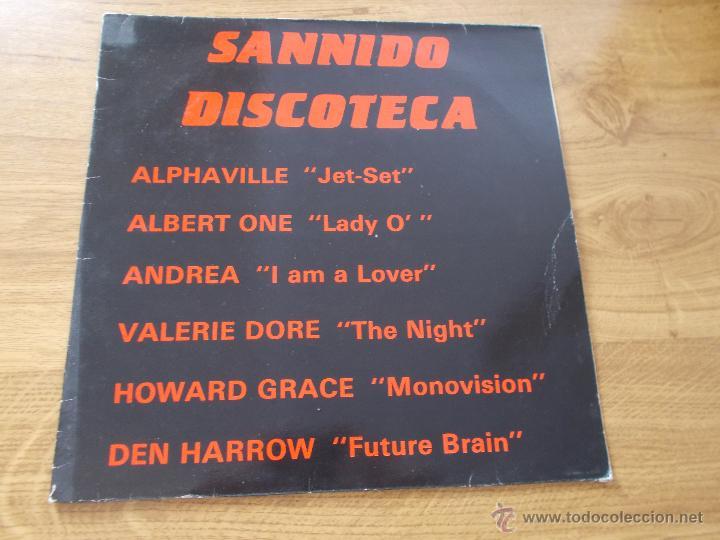 SANNIDO DISCOTECA (Música - Discos - LP Vinilo - Disco y Dance)