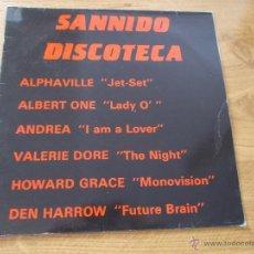 Discos de vinilo: SANNIDO DISCOTECA. Lote 53578322