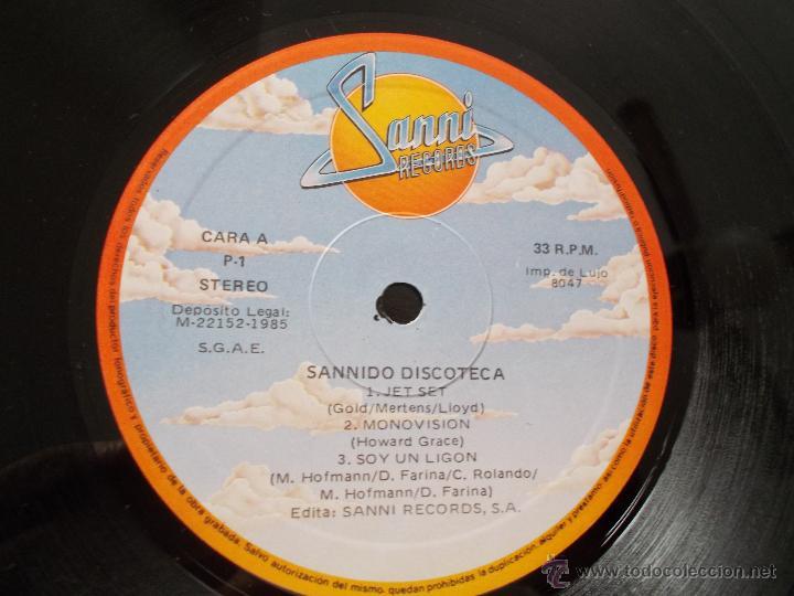 Discos de vinilo: SANNIDO DISCOTECA - Foto 2 - 53578322