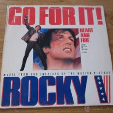 Discos de vinilo: GO FOR IT. ROCKY V MAXI 12. Lote 53578494