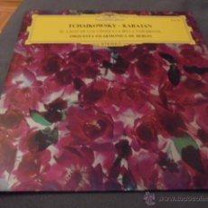 Discos de vinilo: TCHAIKOWSKY - KARAJAN --- EL LAGO DE LOS CISNES / LA BELLA DURMIENTE -- ORQUESTA FILARMONICA DE BERL. Lote 53581021