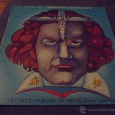 Discos de vinilo: L.V. BEETHOVEN --- SINFONIA Nº5 EN DO MENOR OP 67. Lote 53581077