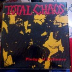 Discos de vinilo: TOTAL CHAOS VINILO. Lote 53581339