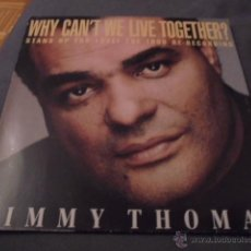 Discos de vinilo: TIMMY THOMAS --- WHY CAN'T WE LIVE TOGETHER?. Lote 53581491