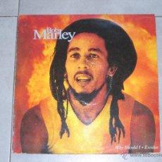 Discos de vinilo: BOB MARLEY - WHY SHOULD I - MAXI 2 TEMAS - TUFF GONG - MADE IN SPAIN - 1992 - IB -. Lote 53583906