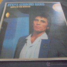 Discos de vinilo: THE STEVE GIBBONS BAND --- DOWN IN THE BUNKER // LETRAS CANCIONES. Lote 53585849