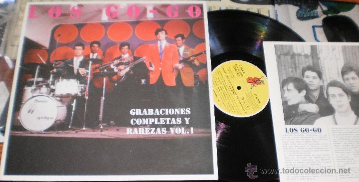 LOS GO-GO LP GRABACIONES COMPLETAS Y RAREZAS VOL.1.HISTORIA DE LA MUSICA POP Nº95 (Música - Discos - LP Vinilo - Grupos Españoles 50 y 60)
