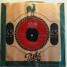 Discos de vinilo: RENATO CAROSONE -SG- MALAFEMMENA + LA PANSE - RARE OR ITALY 1956. Lote 53588122