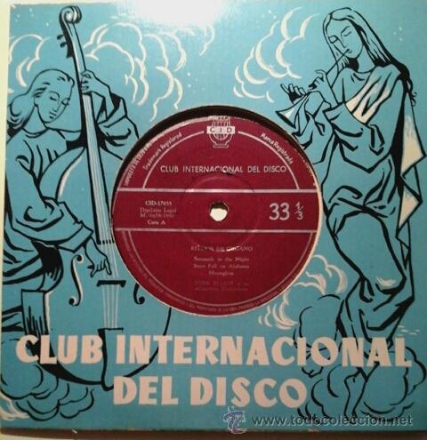 JOHN ELLIOT Y SU CUARTETO DIATÓNICO -EP- SERENADE IN THE NIGHT + 5 RARE SPAIN 60'S (Música - Discos de Vinilo - Maxi Singles - Pop - Rock Extranjero de los 50 y 60)