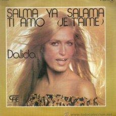 Discos de vinilo: DALIDA SINGLE SELLO POP LANDIA AÑO 1977 EDITADO EN ESPAÑA . Lote 53593922