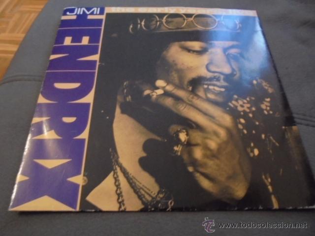JIMI HENDRIX --- THE EARLY YEARS, LIVE (Música - Discos de Vinilo - EPs - Reggae - Ska)