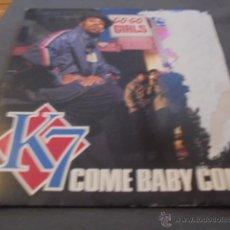 Discos de vinilo: K7 --- COME BABY COME/ I'KK MAKE YOU FEEL SO GOOD . Lote 53597058