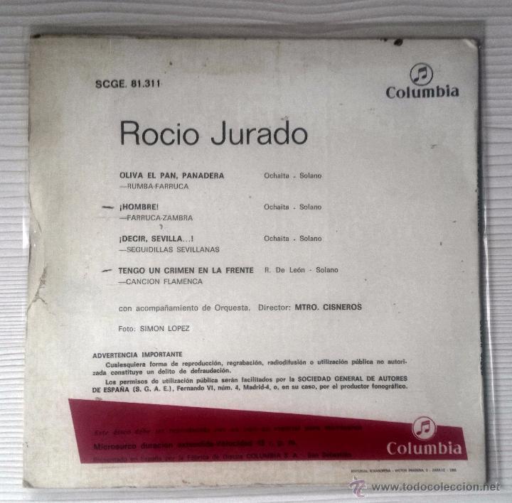 Discos de vinilo: ROCÍO jURADO - Foto 2 - 53598437