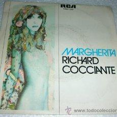 Discos de vinilo: RICHARD COCCIANTE - MARGHERITA - SINGLE RCA PROMO. Lote 53598557