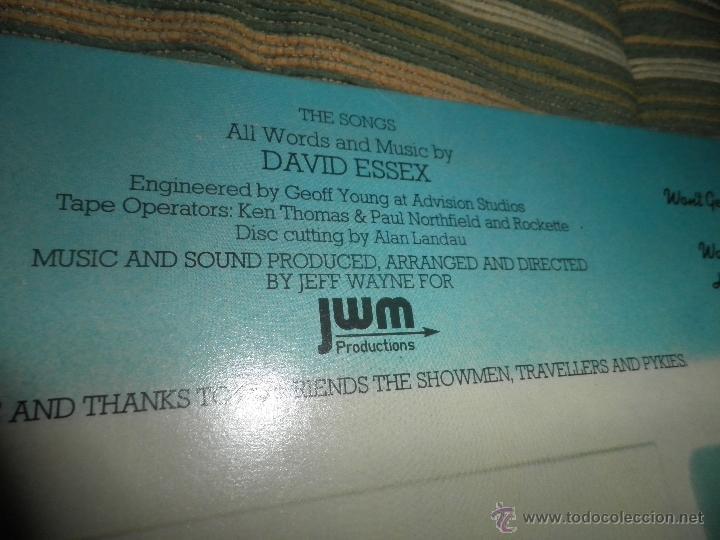 Discos de vinilo: DAVID ESSEX - ALL THE FUN OF THE FAIR LP - ORIGINAL INGLES - CBS RECORDS 1975 GATEFOLD COVER - - Foto 3 - 53599397