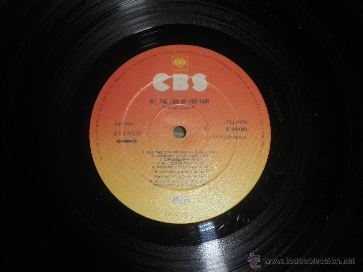 Discos de vinilo: DAVID ESSEX - ALL THE FUN OF THE FAIR LP - ORIGINAL INGLES - CBS RECORDS 1975 GATEFOLD COVER - - Foto 14 - 53599397
