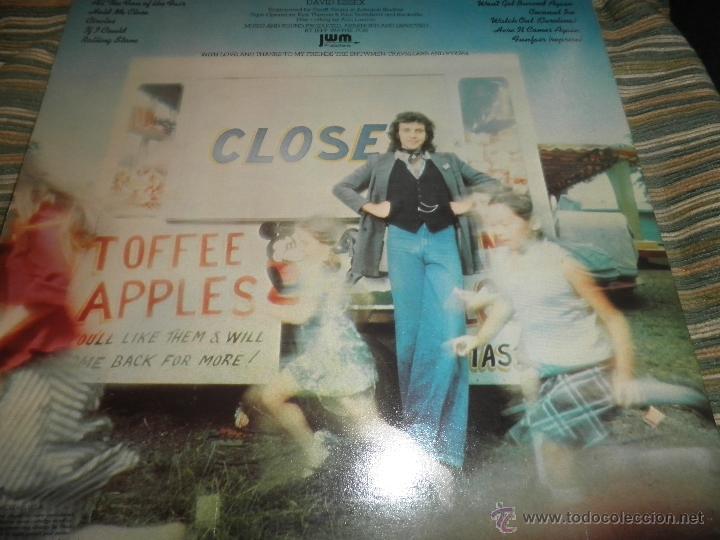Discos de vinilo: DAVID ESSEX - ALL THE FUN OF THE FAIR LP - ORIGINAL INGLES - CBS RECORDS 1975 GATEFOLD COVER - - Foto 21 - 53599397