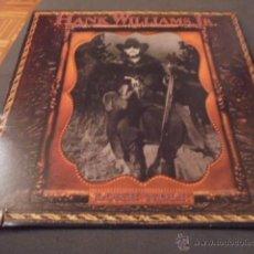 Discos de vinilo: HANK WILLIAMS JR. --- LONE WOLF // COMO NUEVO. Lote 53602719