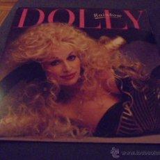 Discos de vinilo: DOLLY PARTON --- RAINBOW // LETRAS CANCIONES // COMO NUEVO. Lote 53602856