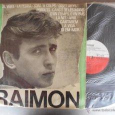 Disques de vinyle: RAIMON-1964.PRIMER LP. Lote 53605321