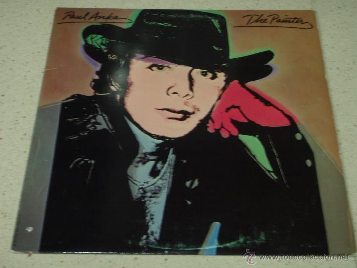 PAUL ANKA ( THE PAINTER ) USA - 1976 LP33 UNITED ARTISTS RECORDS (Música - Discos - LP Vinilo - Pop - Rock - Internacional de los 70)