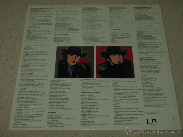 Discos de vinilo: PAUL ANKA ( THE PAINTER ) USA - 1976 LP33 UNITED ARTISTS RECORDS - Foto 4 - 53605330
