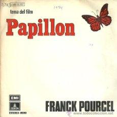 Discos de vinilo: FRANCK POURCEL SINGLE SELLO EMI-ODEON AÑO 1974 EDITADO EN ESPAÑA . Lote 53607992