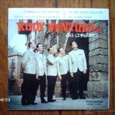 Discos de vinilo: RUDY VENTURA Y SU CONJUNTO - CARNAVALITO GITANO + 3. Lote 53617988