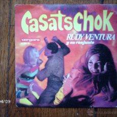 Discos de vinilo: RUDY VENTURA Y SU CONJUNTO - CASATSCHOK + BALIA CASATSCHOK . Lote 53618155