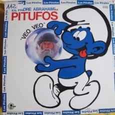 Discos de vinilo: LP - EL PADRE ABRAHAM Y SUS PITUFOS - VEO, VEO (SPAIN, CARNABY RECORDS 1980). Lote 53618465