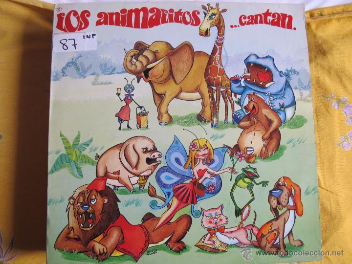 LP - LOS ANIMALITOS...CANTAN (SPAIN, DISCOS REDIM 1981) (Música - Discos - LPs Vinilo - Música Infantil)