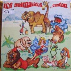 Discos de vinilo: LP - LOS ANIMALITOS...CANTAN (SPAIN, DISCOS REDIM 1981). Lote 53618486