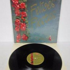 Discos de vinilo: FELICES FIESTAS GALERIAS PRECIADOS FELICIDADES - LP - SERDISCO 1987 TOP MIX PROMO. Lote 53618737