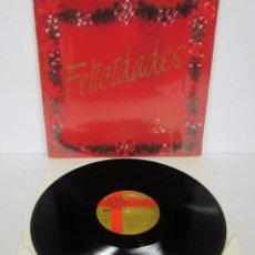 Discos de vinilo: FELICES FIESTAS GALERIAS PRECIADOS FELICIDADES - LP - RCA 1986 VARIOS PROMO. Lote 53618768